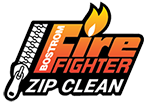 Bostrom Fire Fighter Zip Clean Logo