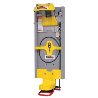 SecureAll wall mount SCBA Locking System